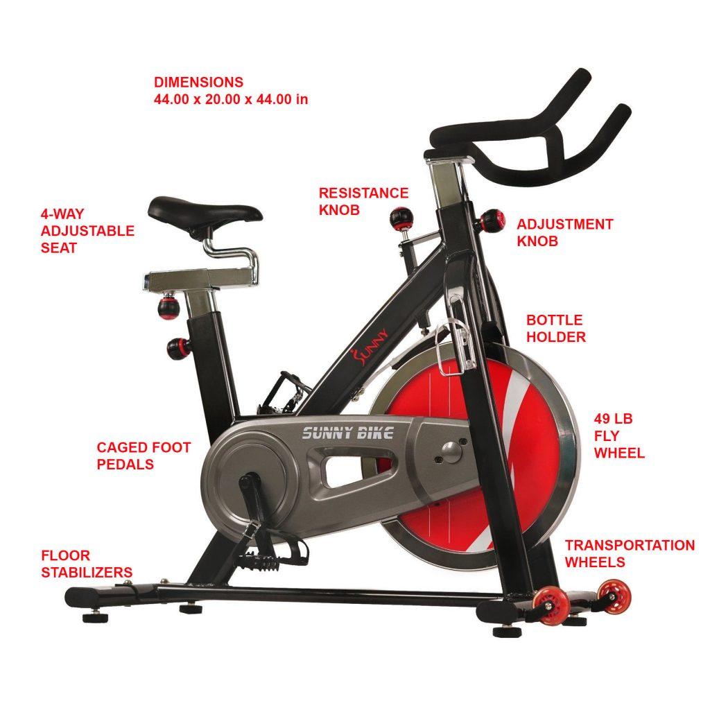 cycle bike SF-B1002 best cardio machine for hone