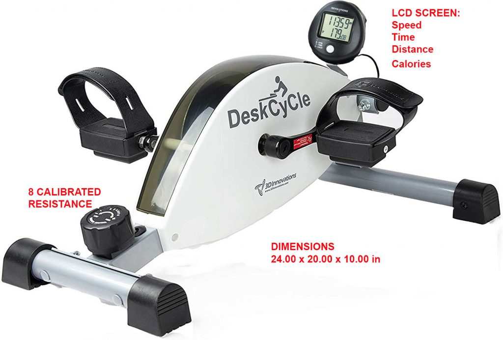 DeskCycle best space saving bike for seniors
