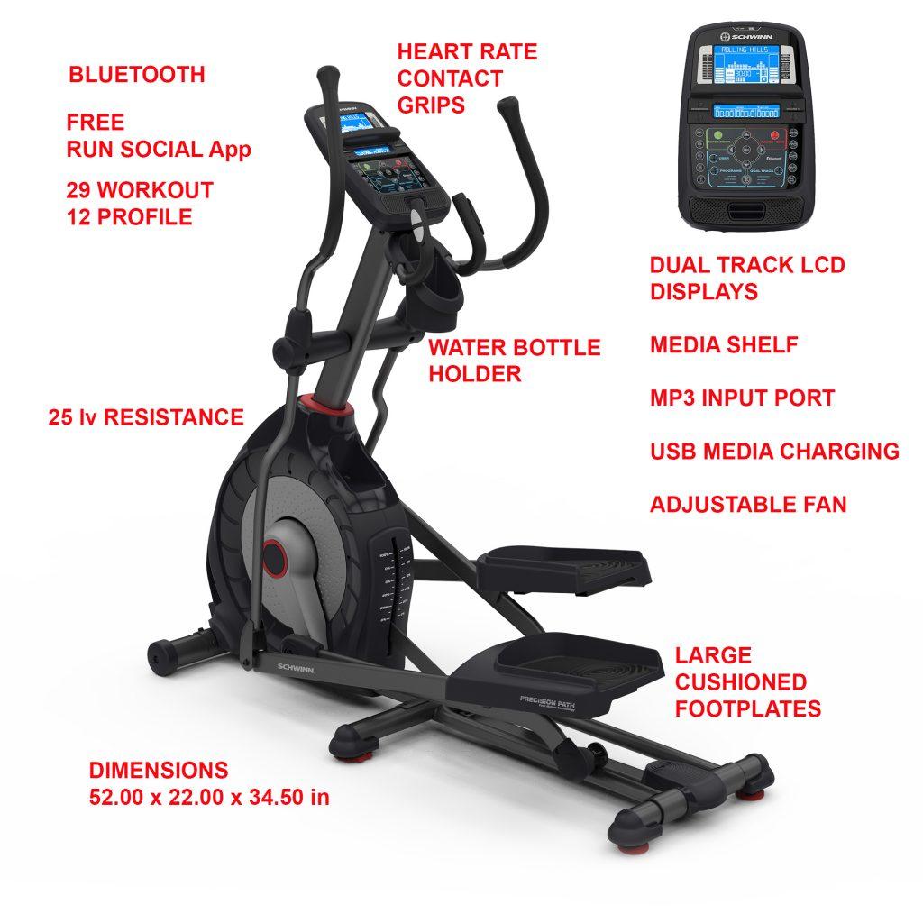 Schwinn 470 best elliptical machine for bad knees
